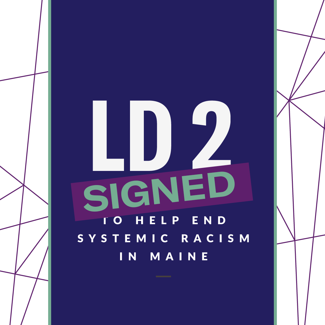 LD 2 signed into law