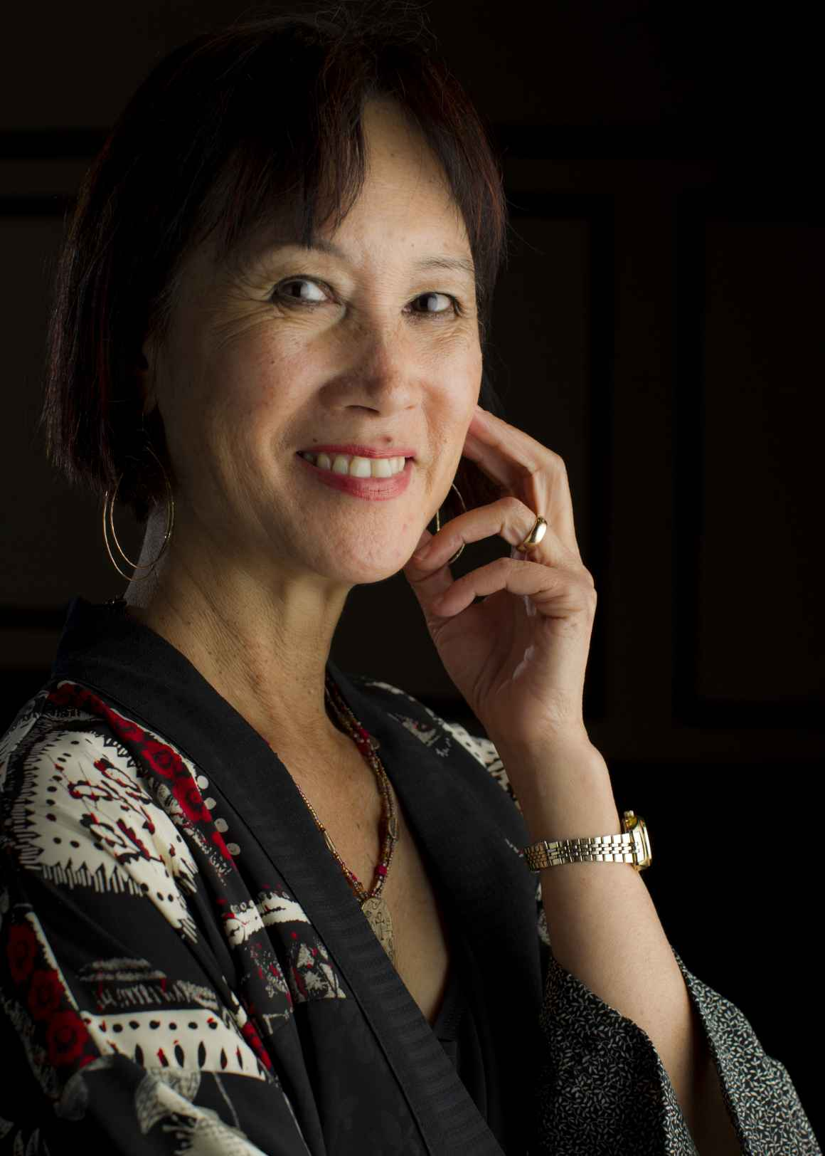 Headshot of Tess Gerritsen