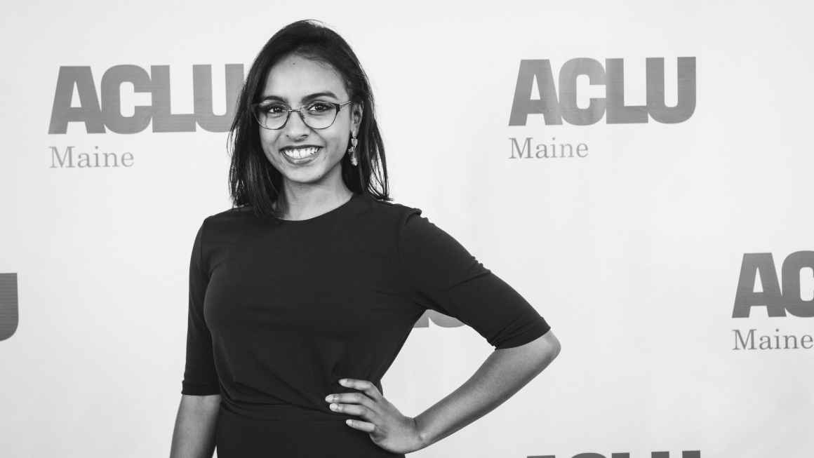 Photo of Dhivya Singaram, ACLU of Maine Engagement Coordinator/Organizer