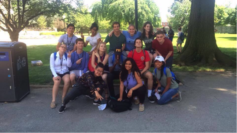 Students at the ACLU summer institute
