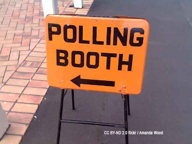 Polling both sign