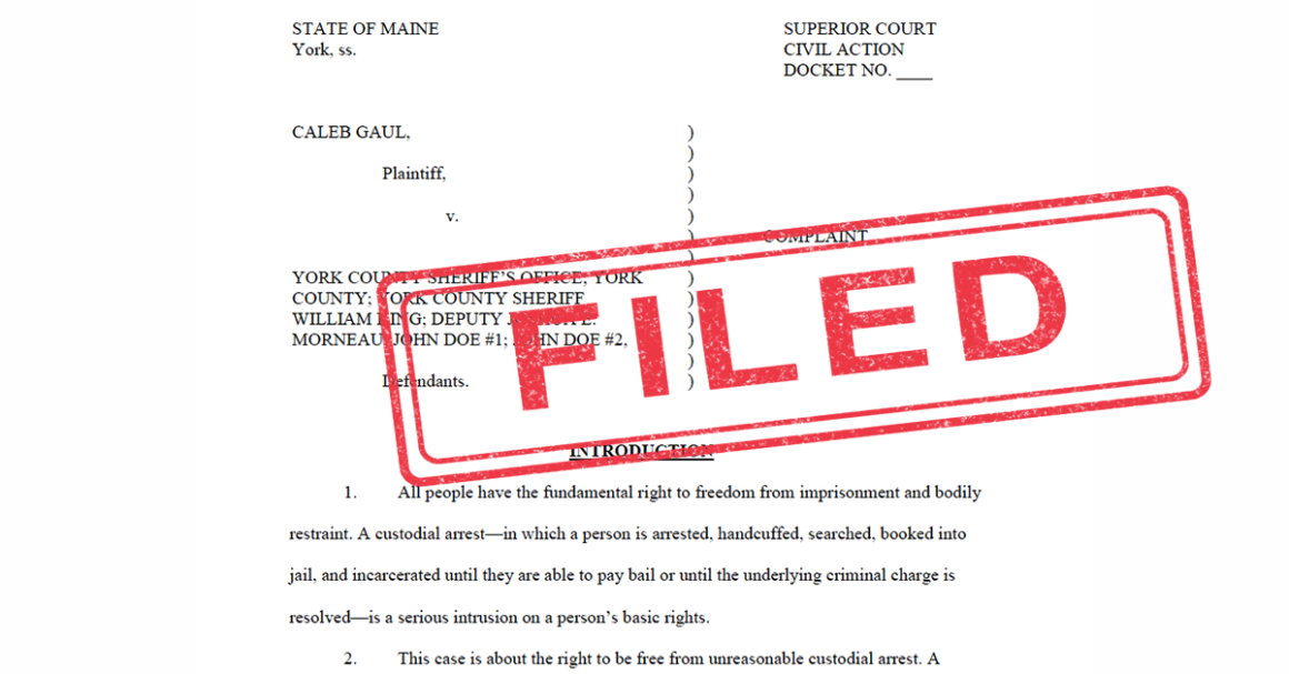 """Top portion of legal complaint with red """"Filed"""" stamp"""