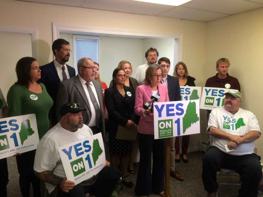 Yes on Question 1 press conference
