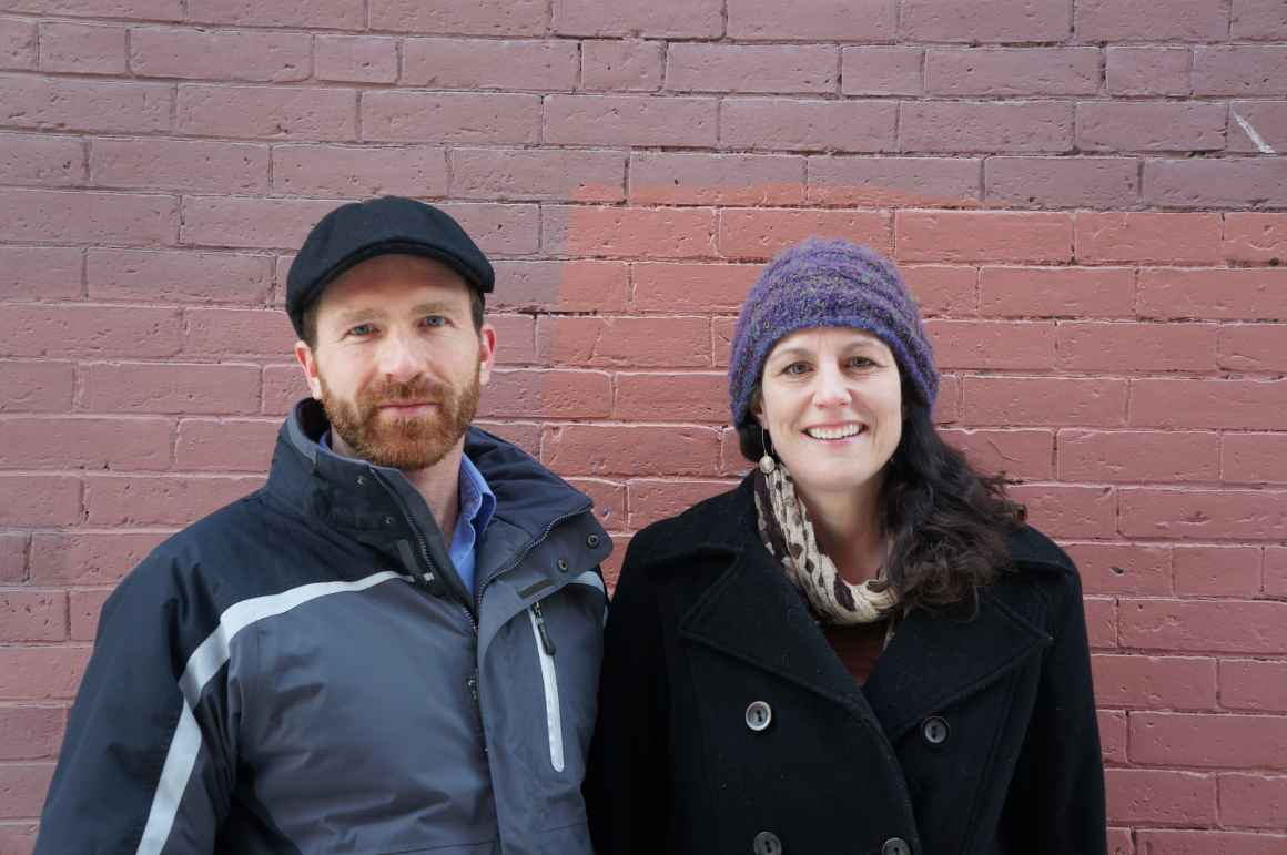 ACLU clients Jill Walker and Sabatino Scattoloni