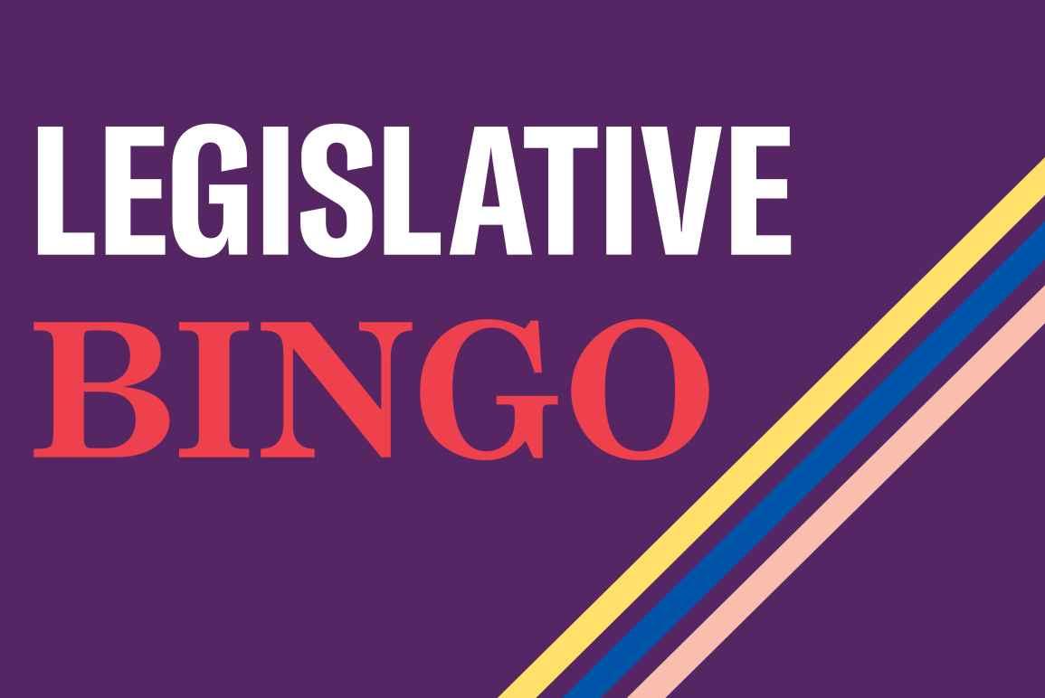 Legislative Bingo