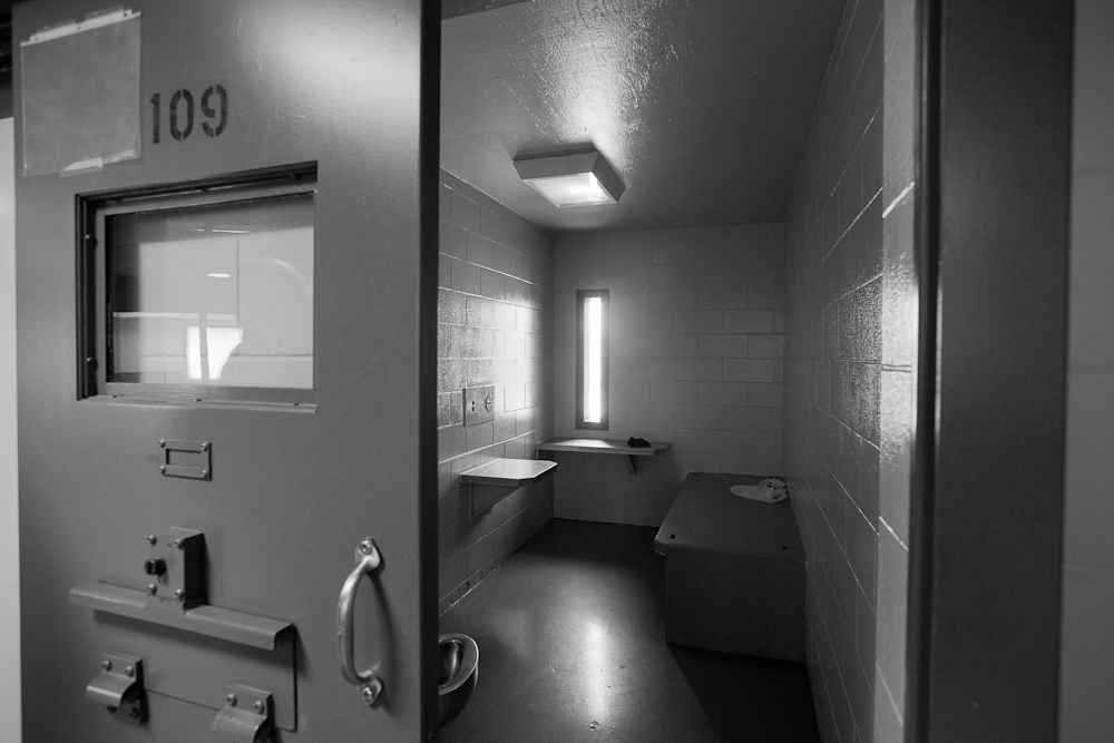 solitary confinement cell at Maine State Prison