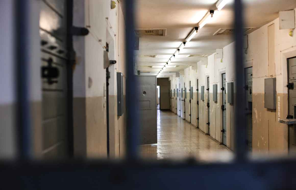 Photo of a prison corridor