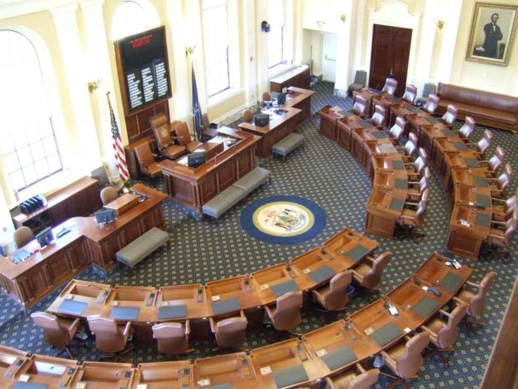 Maine Senate Chamber