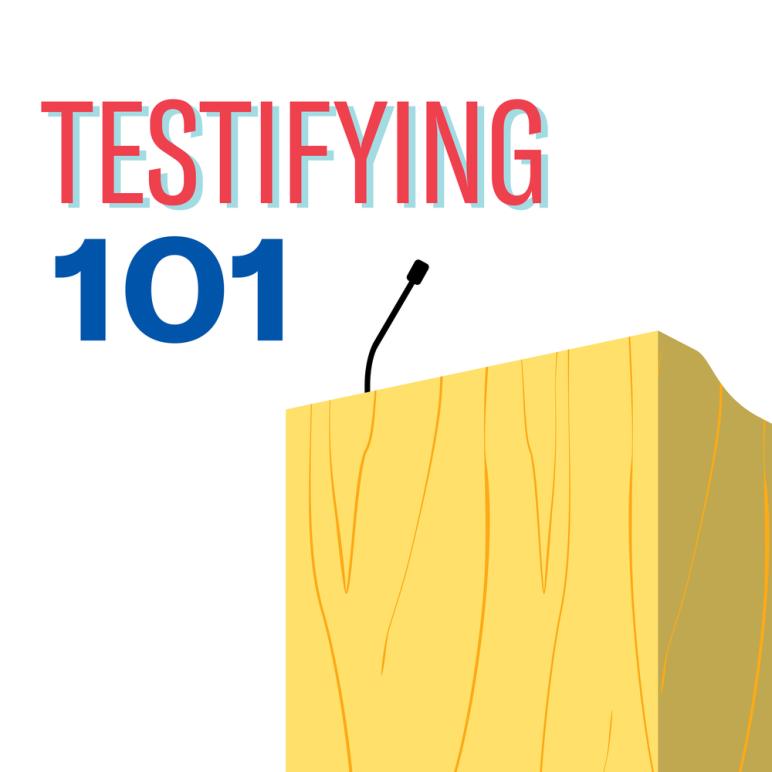 Testifying 101