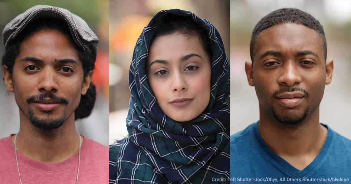 portraits of people of color